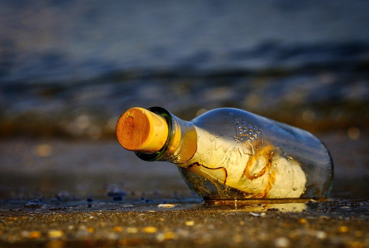 L'histoire du plus vieux message en bouteille