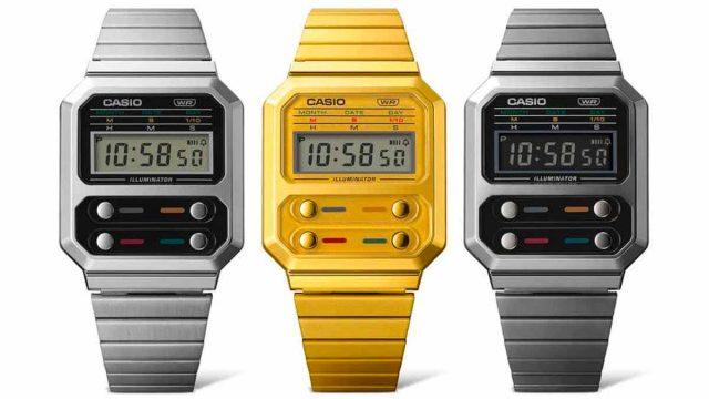 La Casio A100, une montre qui se rapproche de celle portée par Ripley dans Alien