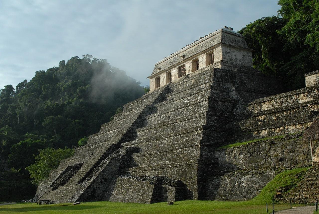 Un temple maya