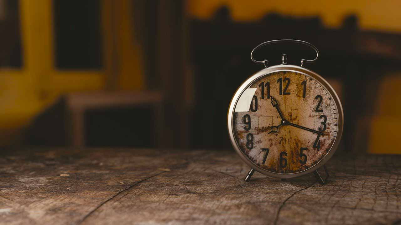 Une horloge ancienne