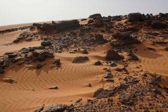 Le désert du Soudan