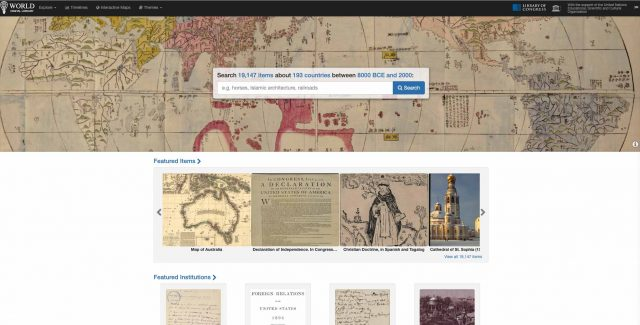 La World Digital Library