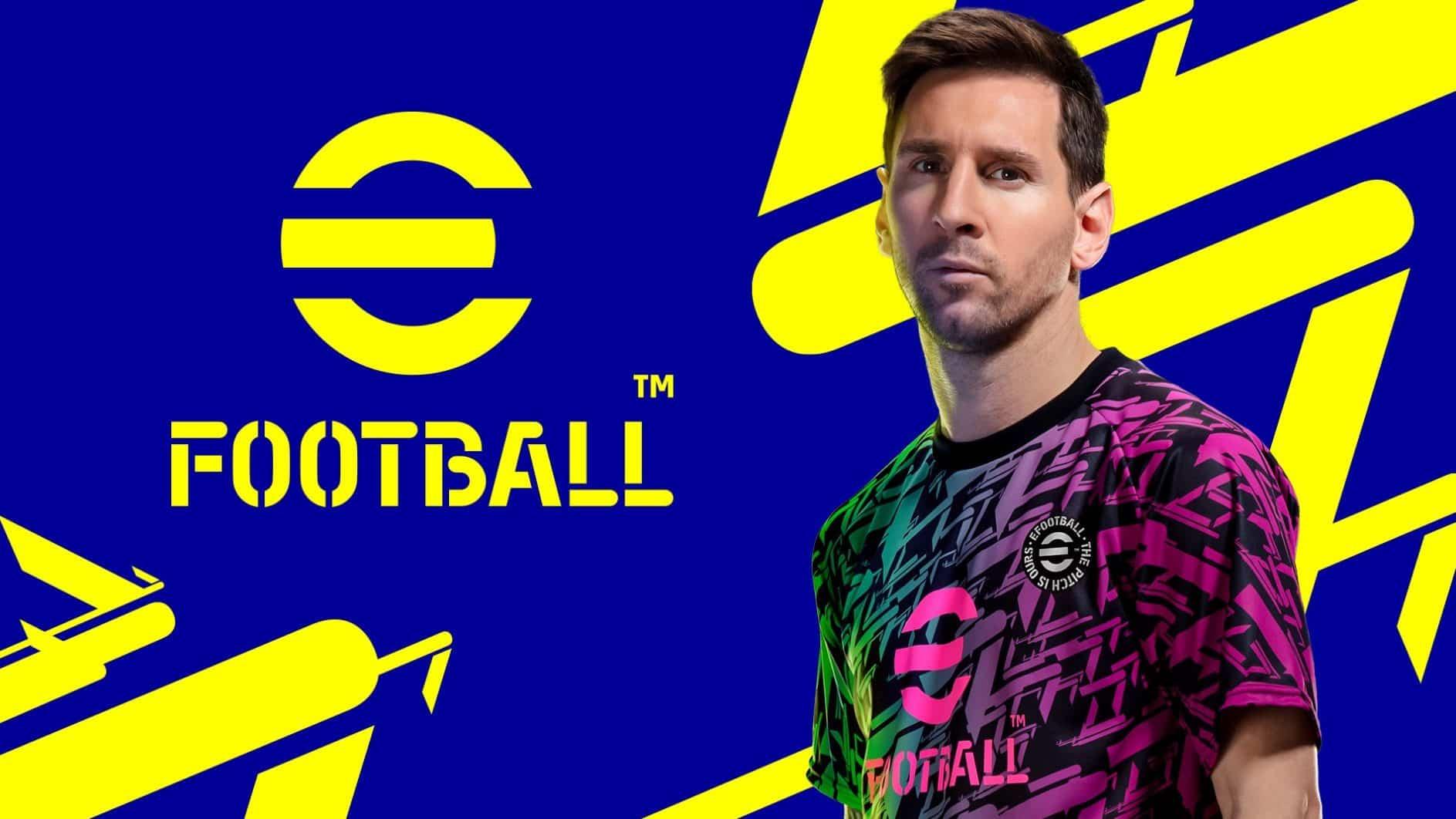 eFootball, la jaquette du successeur de PES