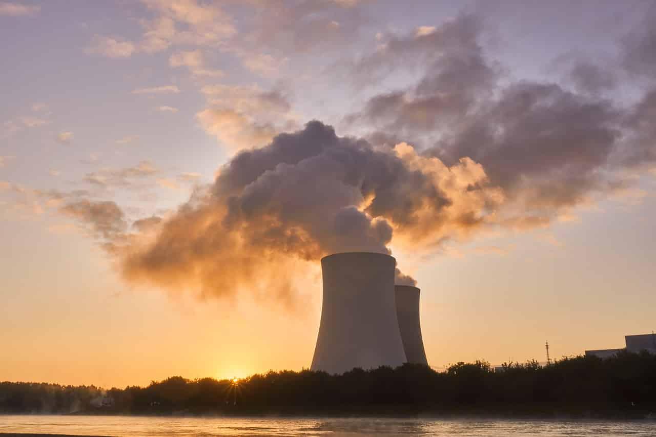 Un réacteur nucléaire en activité
