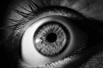 L'oeil d'une femme