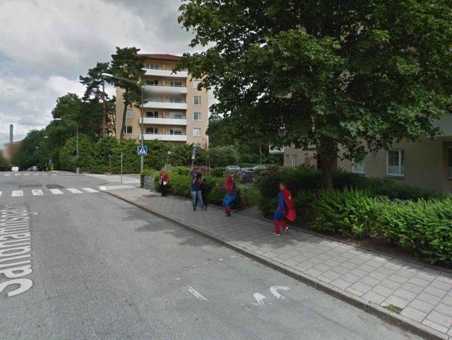 Spider-Man et Superman, ou plutôt deux de leurs interprètes