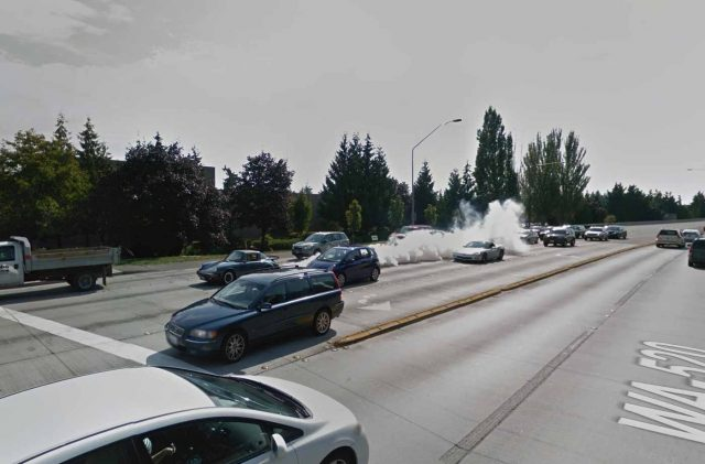 Quand votre Porsche se met à fumer et qu'une Google Car passe par là