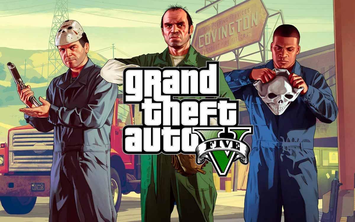 une affiche de GTA 5