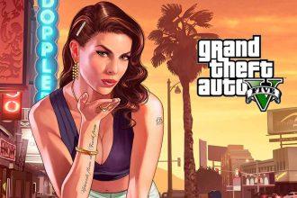 Un poster de GTA 5