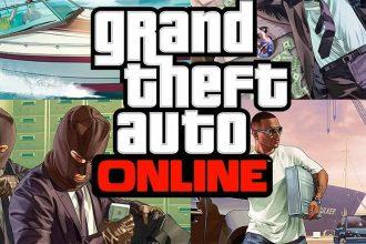 La jaquette de GTA Online