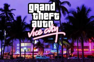 La jaquette de GTA Vice City