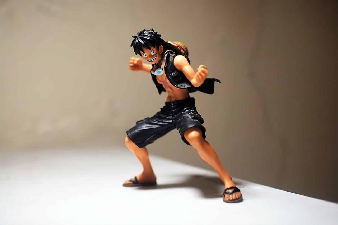 Une figurine de One Piece