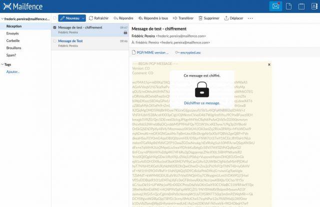 Mailfence, une messagerie sécurisée