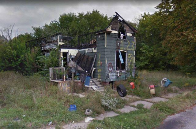 Une maison abandonnée digne des meilleurs films d'horreur