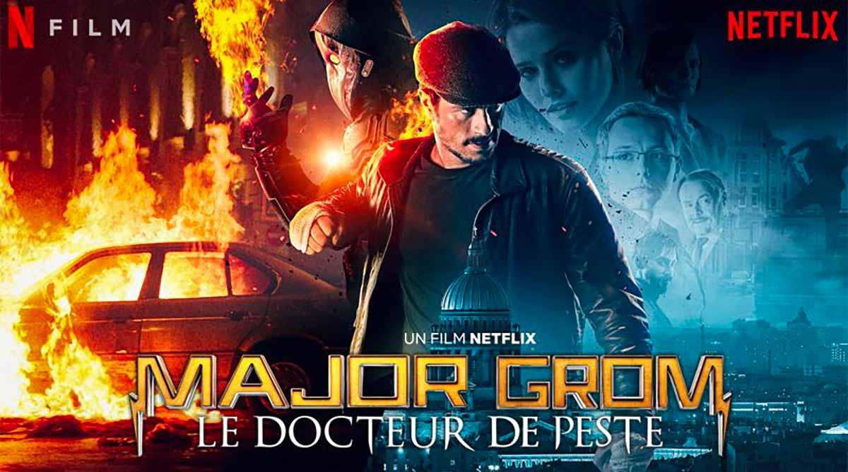 L'affiche de Major Grom le Docteur de Peste