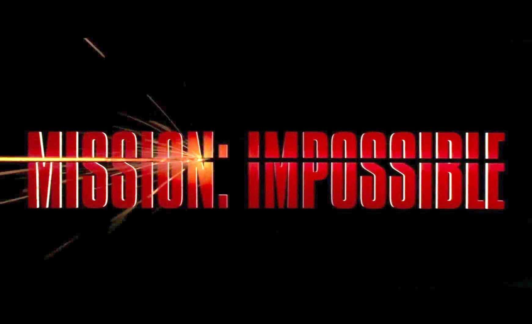 Un poster de Mission Impossible, le film