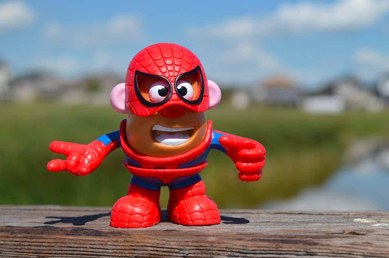 Mr Patate en Spider-Man