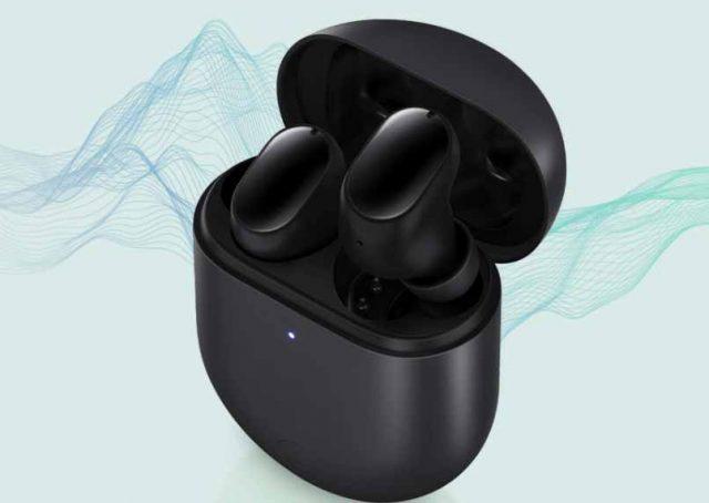 Les Redmi Buds 3 Pro en version noire