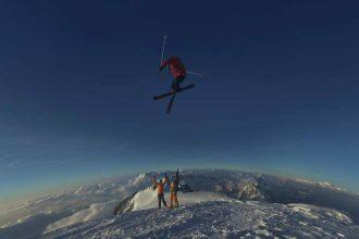Un magnifique saut à ski immortalisé par Google Maps
