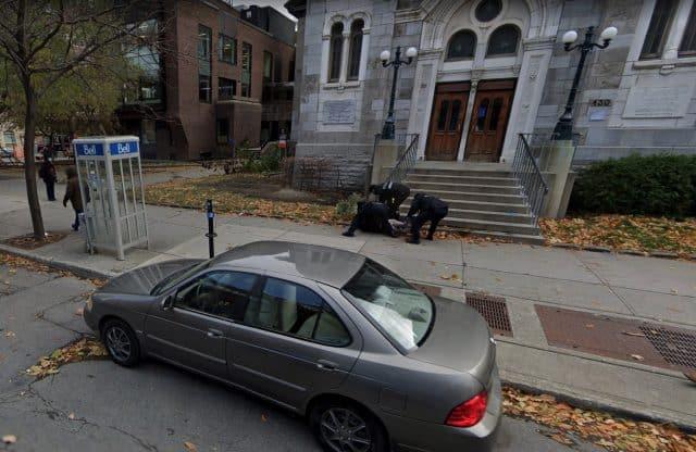 Une arrestation musclée immortalisée par Google Maps
