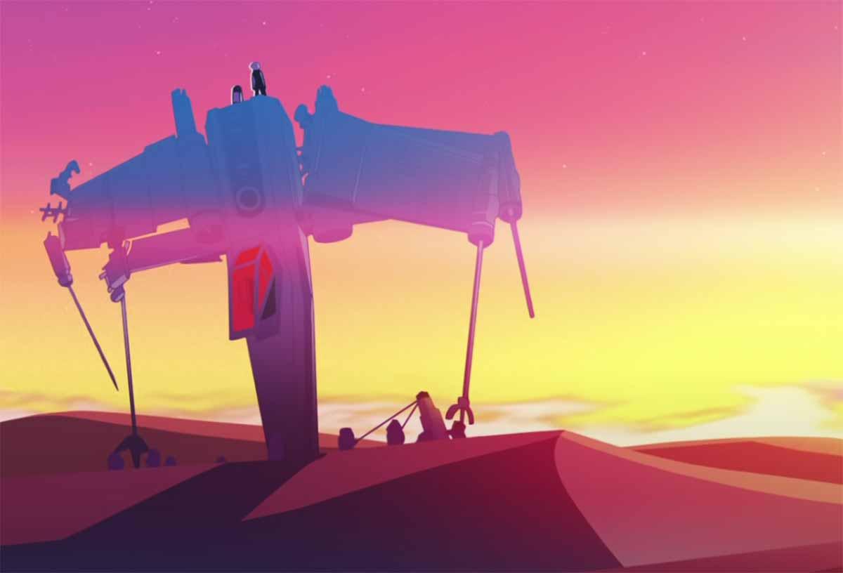 Un extrait de la série Star Wars Visions, attendue sur Disney+ en septembre