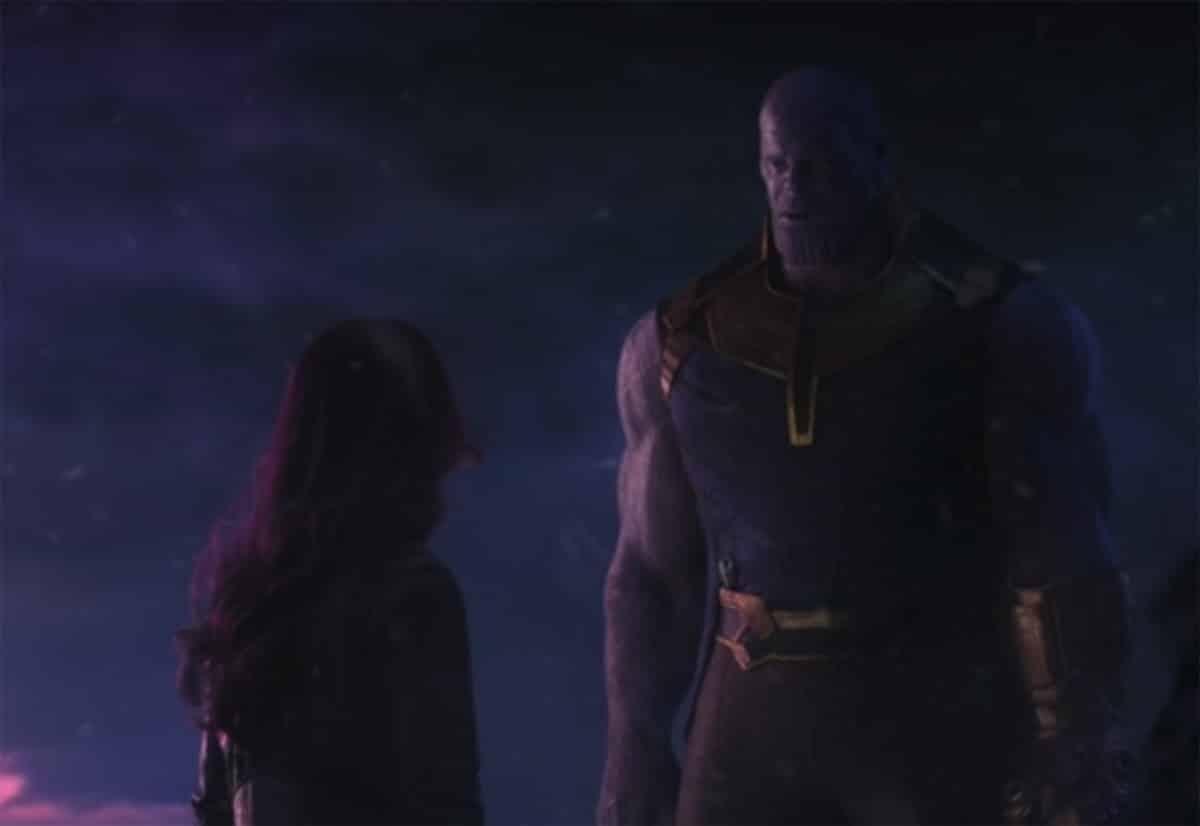 Un extrait du film Avenger Infinity War