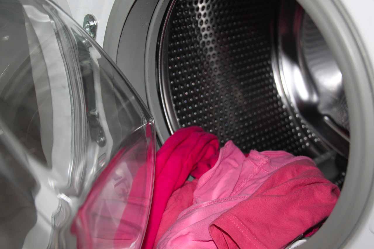 Le tambour d'une machine à laver