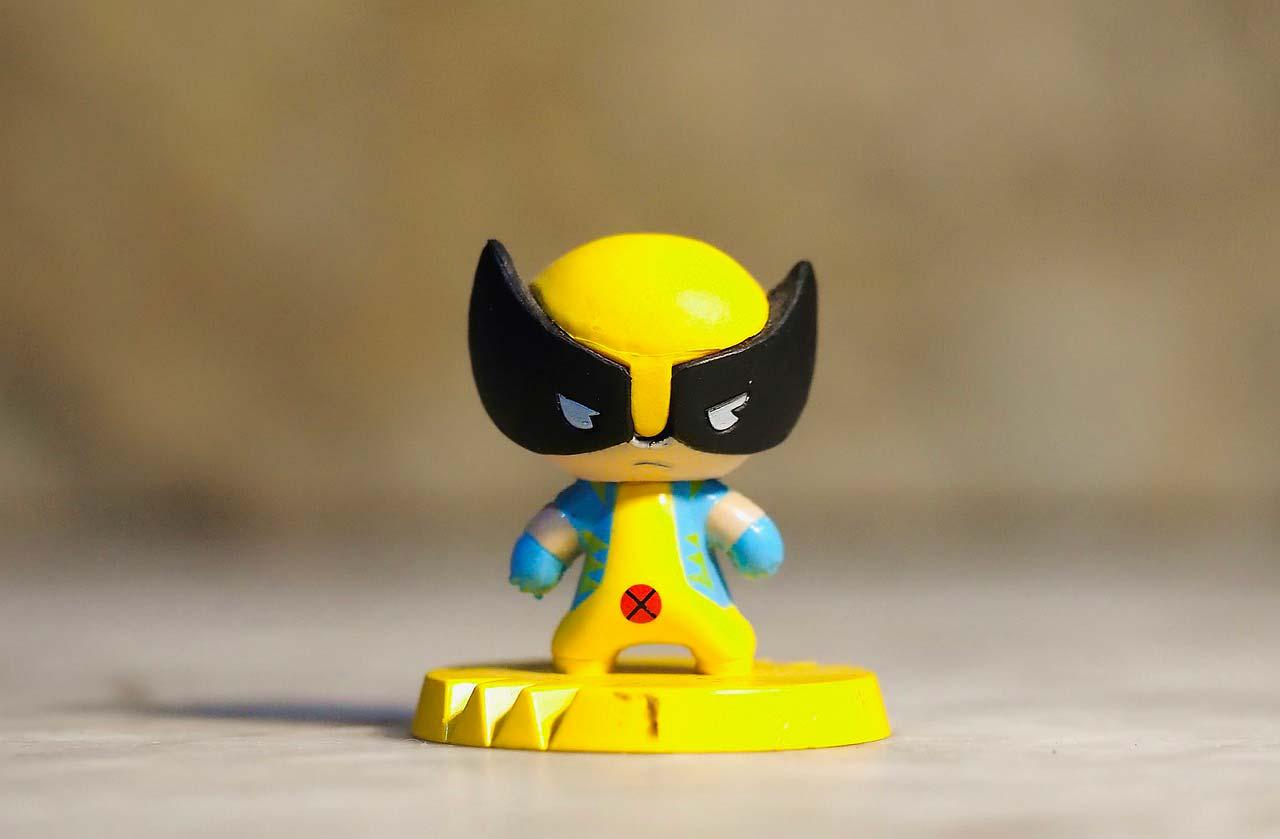 Wolverine dans X-Men, ou plutôt sa figurine pop