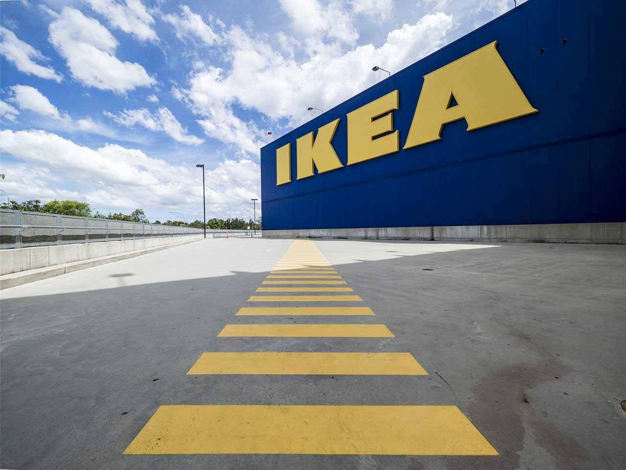 Un point de vente de l'enseigne IKEA