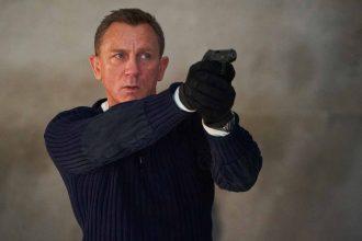 Daniel Craig dans le rôle de James Bond
