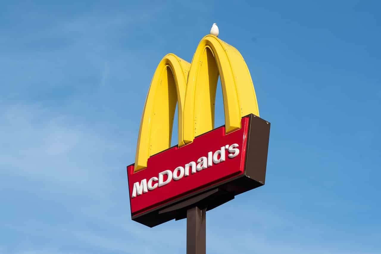 L'enseigne de McDonald's