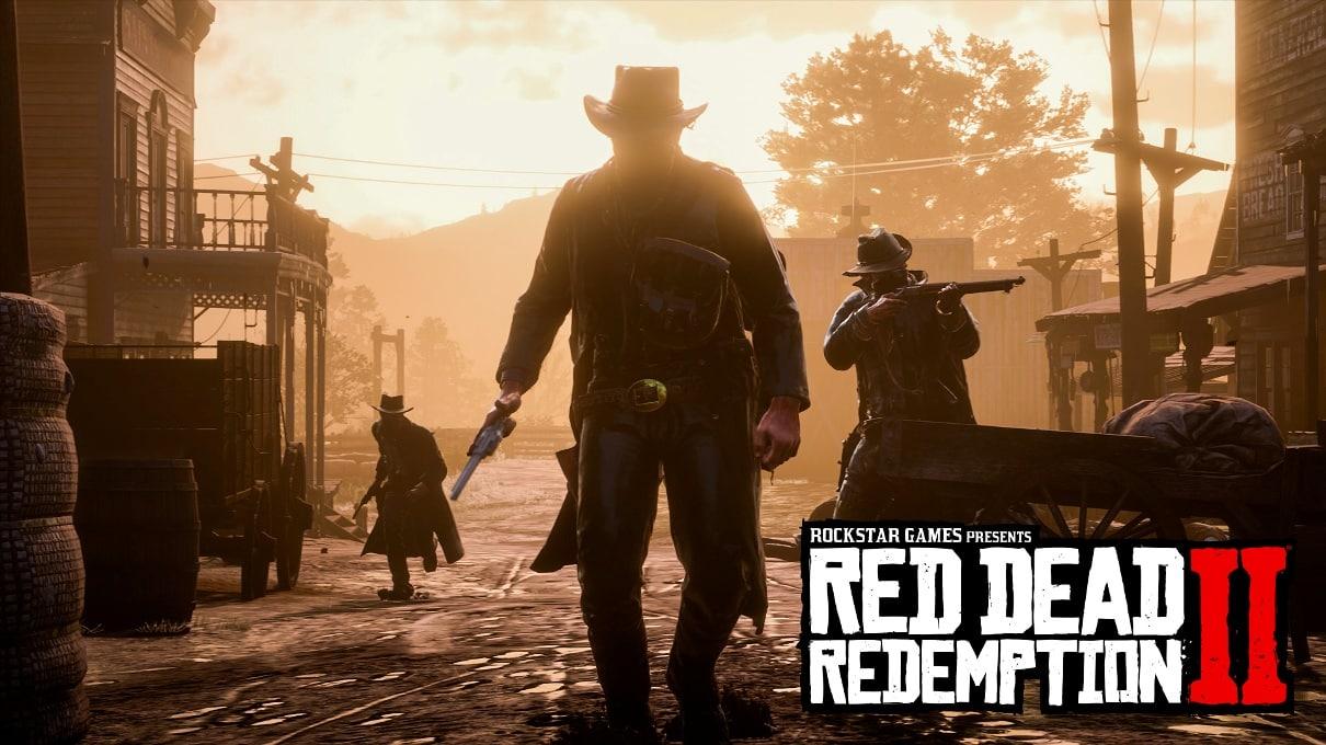L'affiche de Red Dead Redemption 2