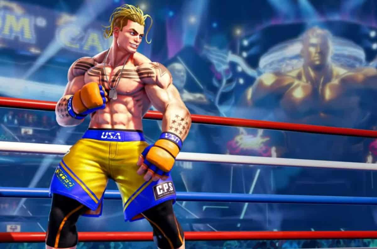Luke, le nouveau personnage de Street Fighter V