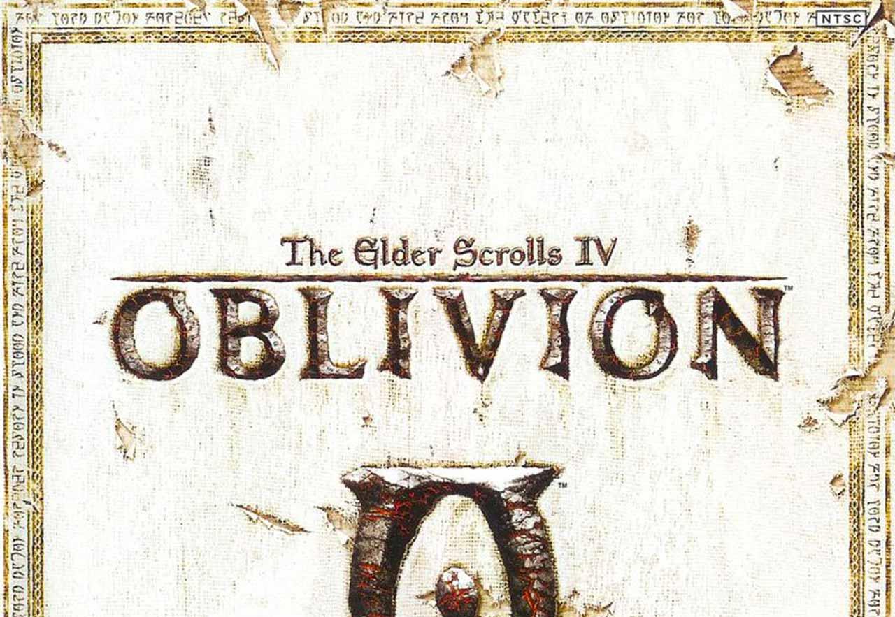 La jaquette d'Oblivion