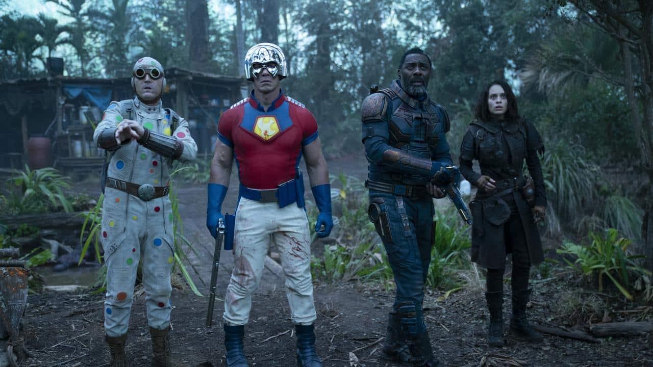 Une scène de The Suicide Squad