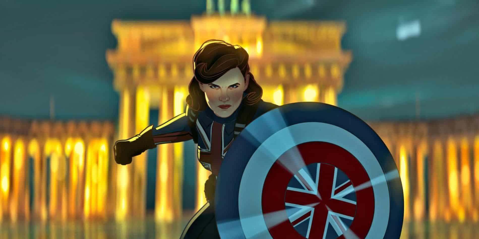 Peggy Carter dans le rôle de Captain America dans What If ?