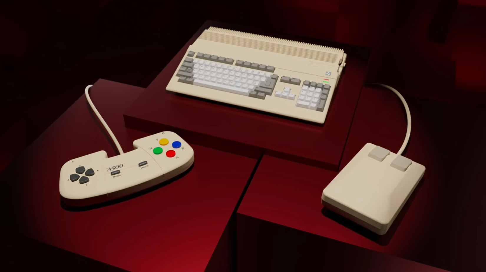 L'Amiga 500 remis au goût du jour