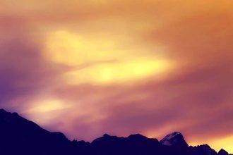 Une photo de la Cordillère des Andes