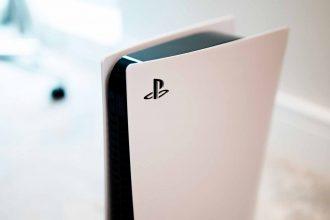 La photo d'une PlayStation 5