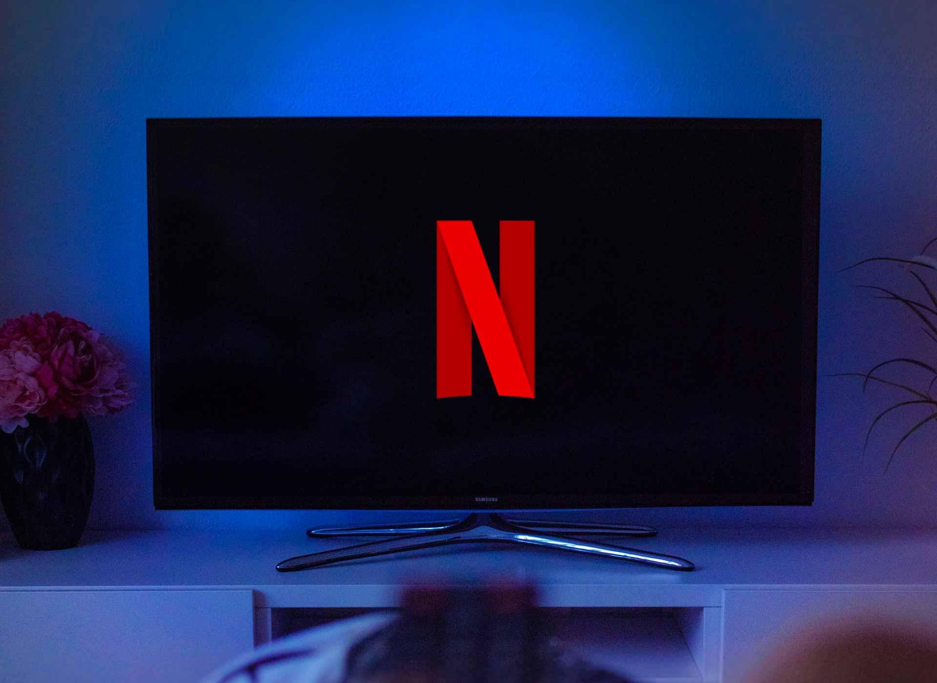 Netflix sur un téléviseur