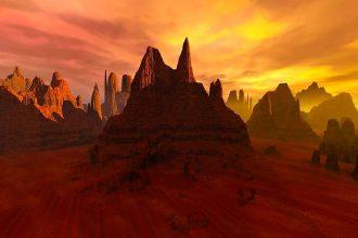 L'image d'un désert