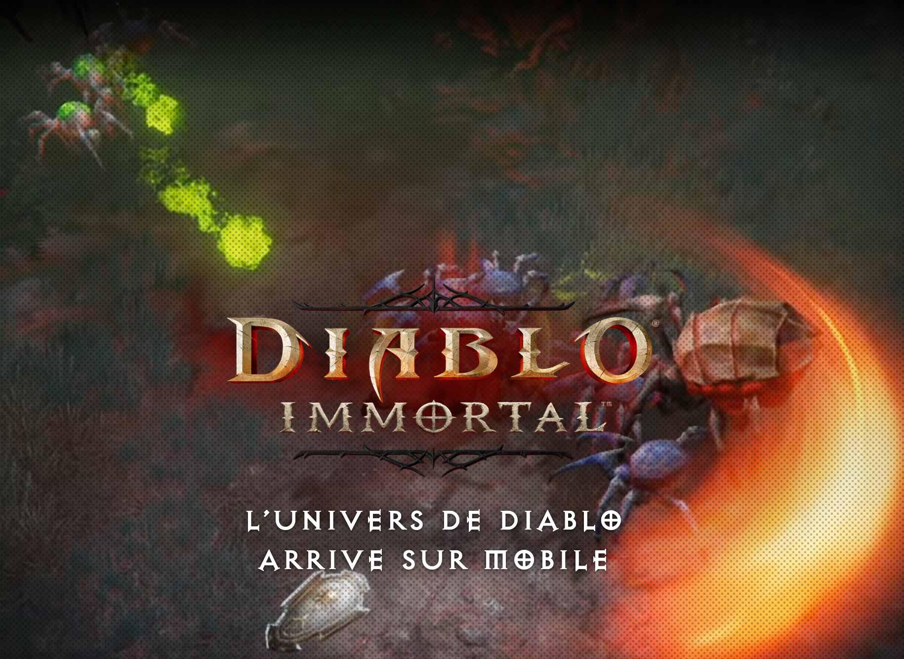 L'affiche de Diablo Immortal