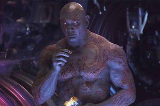 Dave Bautista dans le rôle de Drax