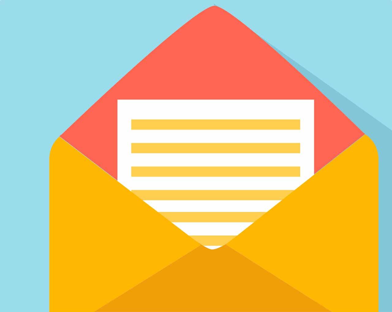 Une image symbolisant un courriel