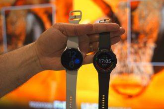 Les deux Galaxy Watch 4 cote à cote