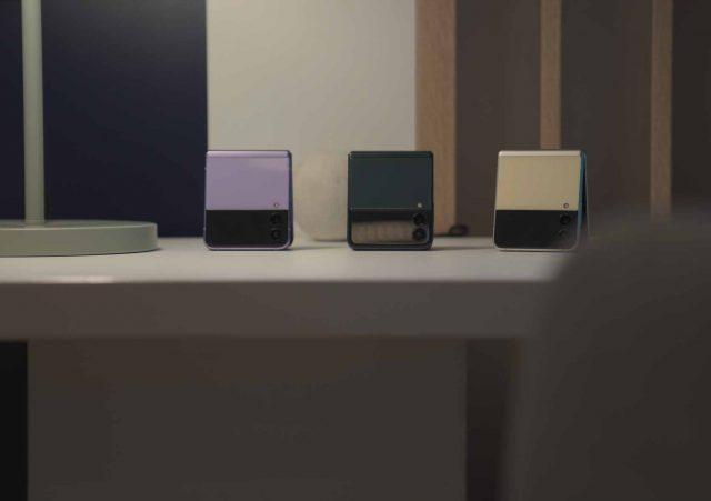 Trois des nombreux coloris proposés par Samsung