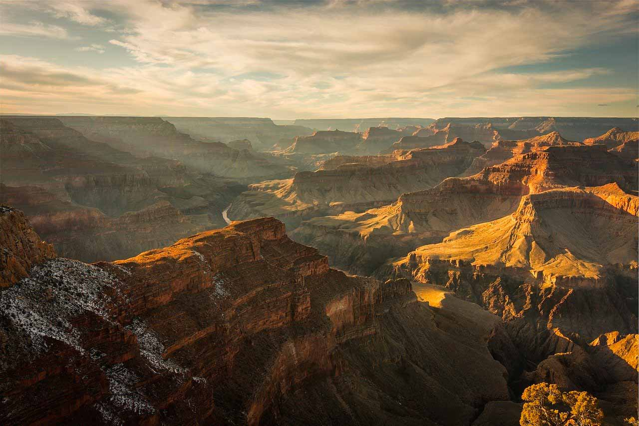 Une photo du Grand Canyon