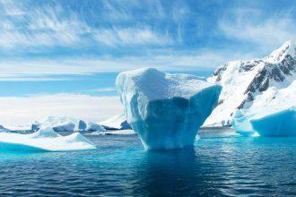 Un iceberg en Antarctique