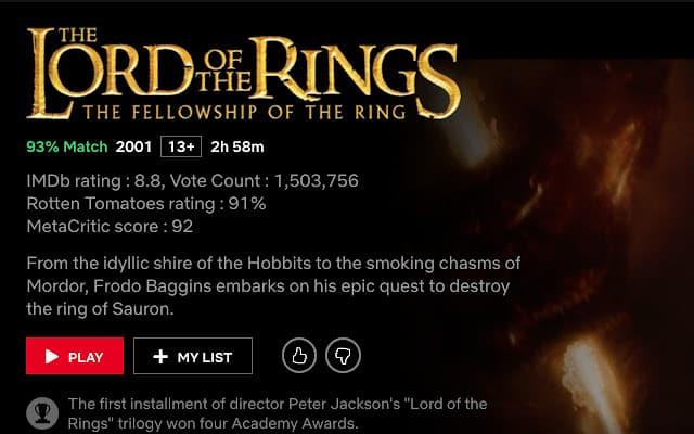 IMDb ratings on Netflix, une extension très pratique pour trouver les meilleurs programmes de Netflix
