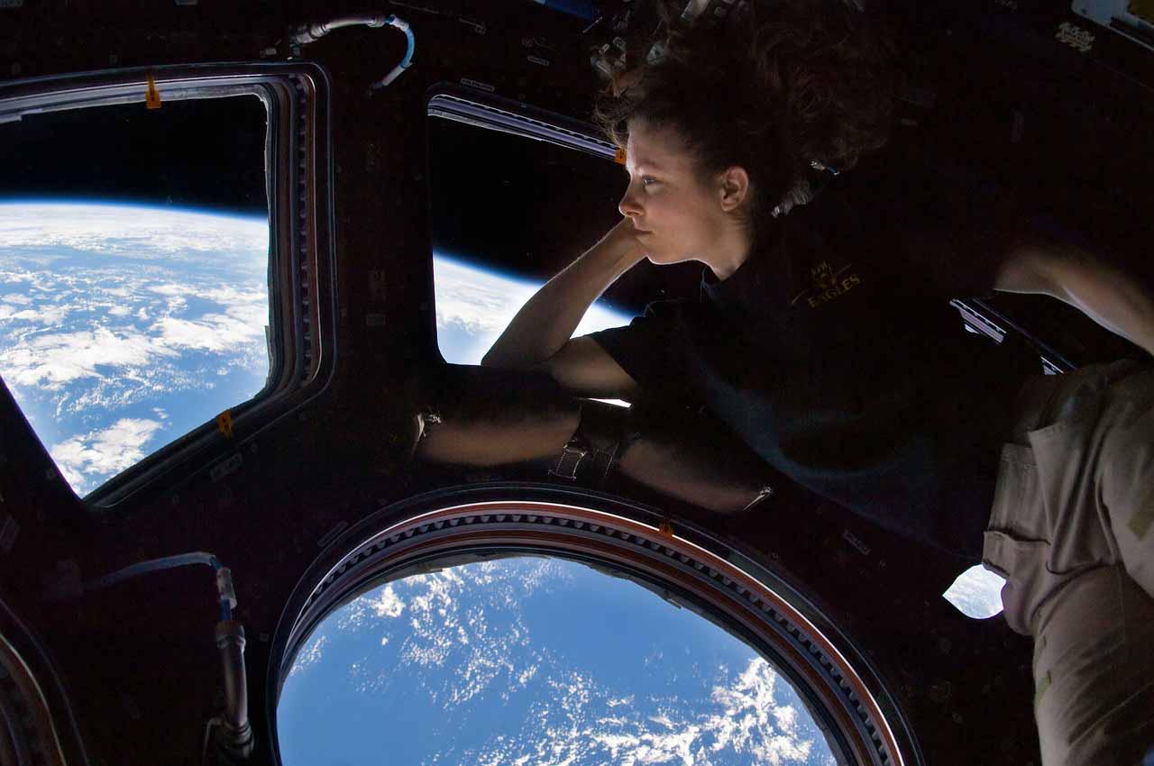 Le dome de la station spatiale internationale
